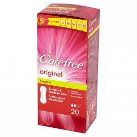 Carefree Orginal Fresh Wkładki higieniczne  1 op.-20szt