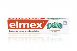 Elmex Pasta do zębów dla dzieci Junior 6-12 lat  75ml