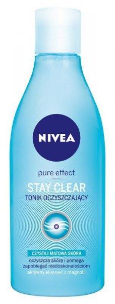 Nivea Pure Effect Tonik oczyszczający Stay Clear   200ml