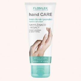 Floslek Hand Care Krem do rąk i paznokci z proteinami jedwabiu witaminą E 100ml