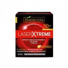 Bielenda Laser Xtreme 50+ Krem na noc liftingująco wygładzający  50ml