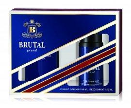 Brutal Grand Zestaw prezentowy (Płyn po goleniu 100ml + Dezodorant spray 150ml)