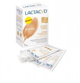 Lactacyd Femina Chusteczki do higieny intymnej 1op.-10szt
