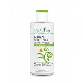 Vis Plantis Herbal Vital Care Płyn Micelarny 3w1 aloes + pantenol  150ml