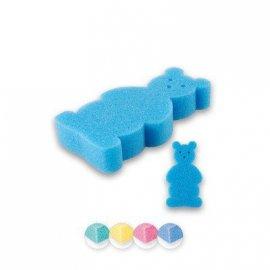 Top Choice Akcesoria kąpielowe Myjka dla dzieci Miś (30581) 1szt