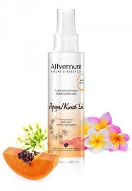 Allverne Nature's Essences Mgiełka do ciała perfumowana Papaja & Kwiat Lei  125ml