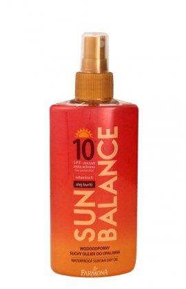 Farmona Sun Balance Suchy olejek do opalania wodoodporny SPF10 spray  150ml