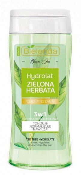 Bielenda Zielona Herbata Hydrolat 3w1 do twarzy - cera mieszana  200ml