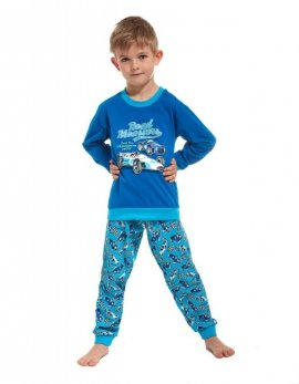 Piżama Cornette Kids Boy 593/59 Monaco dł/r N