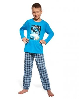 Piżama Cornette Young Boy 535/63 Space dł/r N