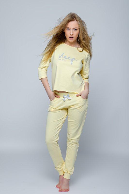 Komplet Beauty Żółty