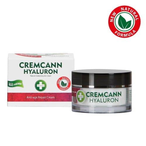 Krem z olejem konopnym i kwasem hialuronowym 50ml