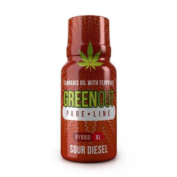 Green Out Pure XL Sour Diesel HYBRID – Ekstrakt Premium 400mg