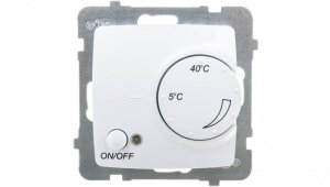 KARO Regulator temperatury /czujnik podłogowy/ biały RTP-1S/m/00
