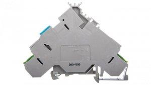 Złączka do elementów wykonawczych zasilająca z PE 2,5mm2 280-593