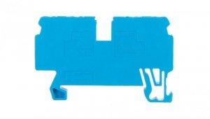 Złączka szynowa 4-przewodowa 2,5mm2 niebieska 870-834/