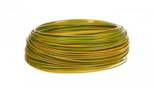 Przewód instalacyjny H05V-K  0,5 żółto-zielony 29082 /100m/
