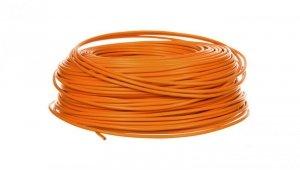 Przewód instalacyjny H07V-K 1,5 pomarańczowy 29142 /100m/