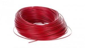 Przewód instalacyjny H05V-K 0,75 czerwony 29101 /100m/