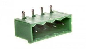 Gniazdo pinowe 4P 320V 12A zielone MSTBA 2,5/ 4-G-5,08 1757268