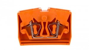 Złączka wewnętrzna 2-przew. 2,5mm2 pomarańczowa 264-326  /100szt./