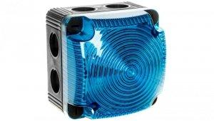 Sygnalizator ostrzegawczy niebieski 115-230V AC LED stały IP66 853.500.60