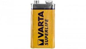 Bateria cynkowo-węglowa 6F22 9V /foliowane/ SUPERLIFE