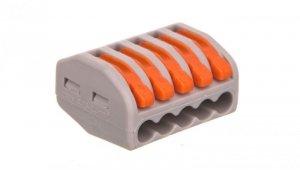 Szybkozłączka 5x 0,75-2,5mm2 z dźwigniami zwalniającymi ZL5