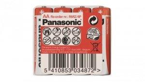 Bateria cynkowo-węglowa R6 / AA 1,5V /foliowane 4szt./