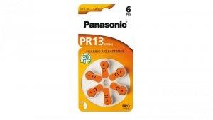 Bateria do aparatów słuchowych PR13 / PR48 1,4V /blister 6szt./