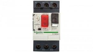Wyłącznik silnikowy 3P 0,18kW 0,4-0,63A GV2ME04
