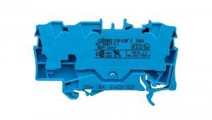 Złączka szynowa 3-przewodowa 4mm2 niebieska 2004-1304 TOPJOBS