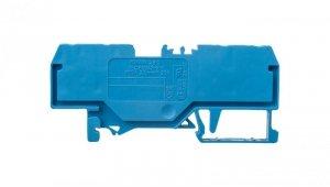 Złączka szynowa 4-przewodowa 2,5mm2 niebieska EURO 280-834