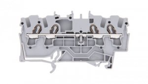 Złączka szynowa 4-przewodowa 2,5mm2 szara 2002-1401 TOPJOBS