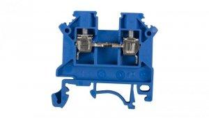 Złączka szynowa 2-przewodowa 4mm2 niebieska NOWA ZSG 1-4.0Nn 11321313