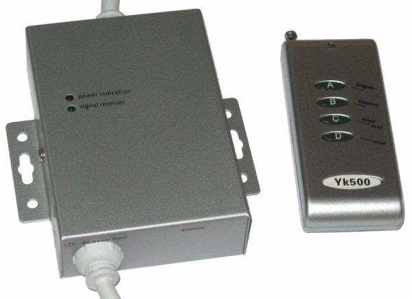 Kontroler bezprzewodowy do listew diodowych typu RGB