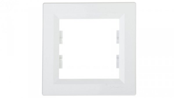 ASFORA Ramka pojedyncza biała EPH5800121
