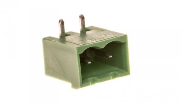 Gniazdo pinowe 2P 320V 12A zielone MSTBA 2,5/ 2-G 1757475 /250szt./