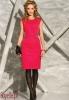 MIRELLA sukienka bez rękawów, ciemna czerwona