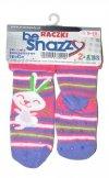 Skarpety dziewczęce ABS By Snazzy SKF-03 Raczki Frotte Girl