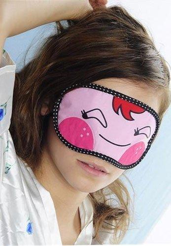 Opaska na oczy - śpij słodko :) - oczy zamknięte