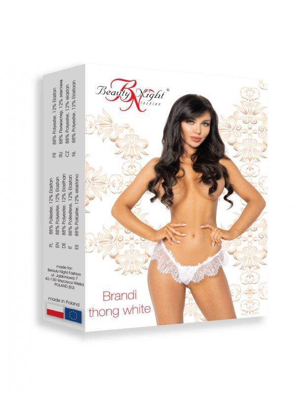 Brandi thong white