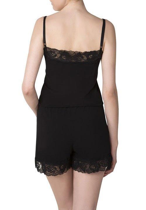 NIGHT SUIT kombinezon - piżama z koronkowymi detalami