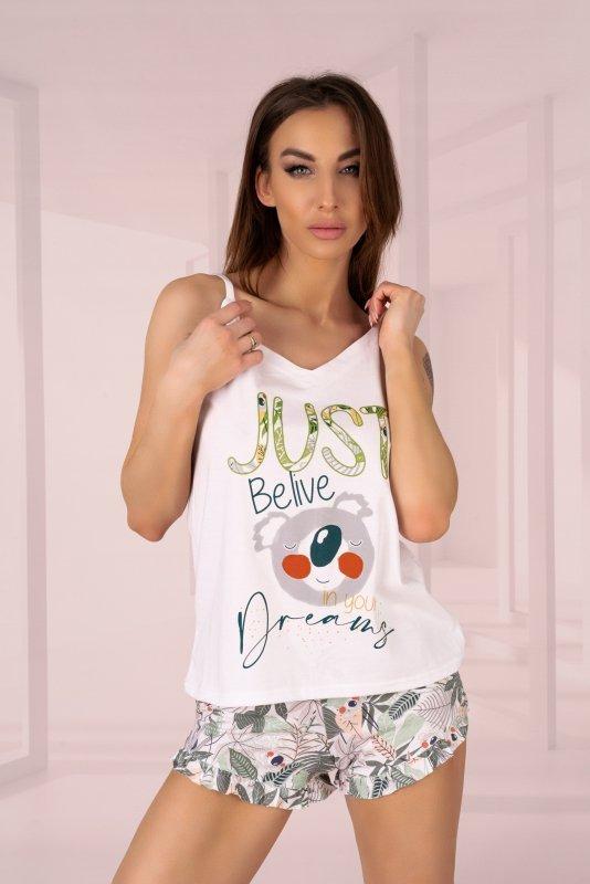 Phasco White piżama 2413 rozmiar - L/XL