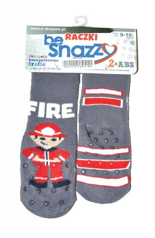 Skarpety Be Snazzy SKF-03 Raczki Frotte Boy
