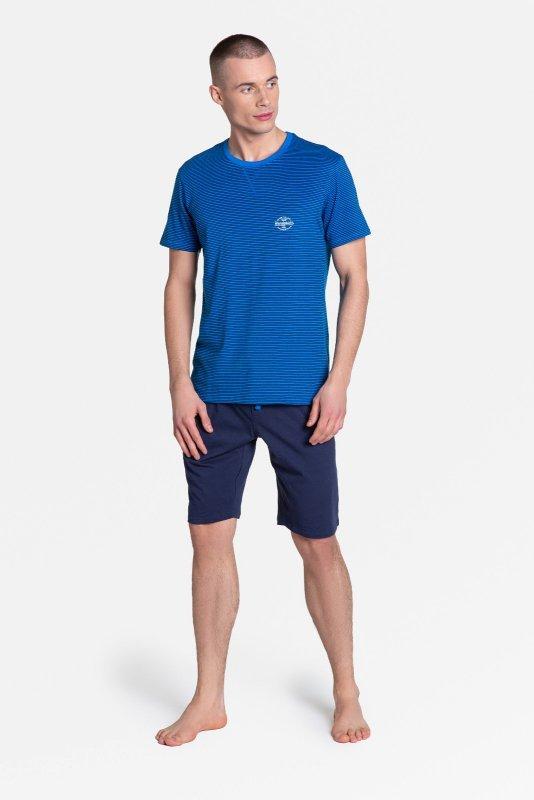 Piżama Henderson 38878 Drake kr/r M-3XL męska