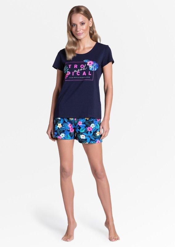 Piżama Henderson Ladies 38905 Tropicana kr/r S-XL
