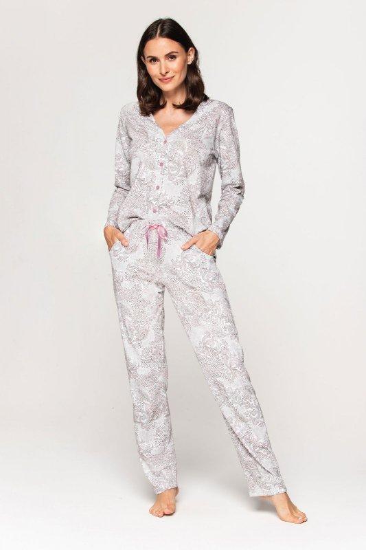 Piżama Cana 580 dł/r 3XL