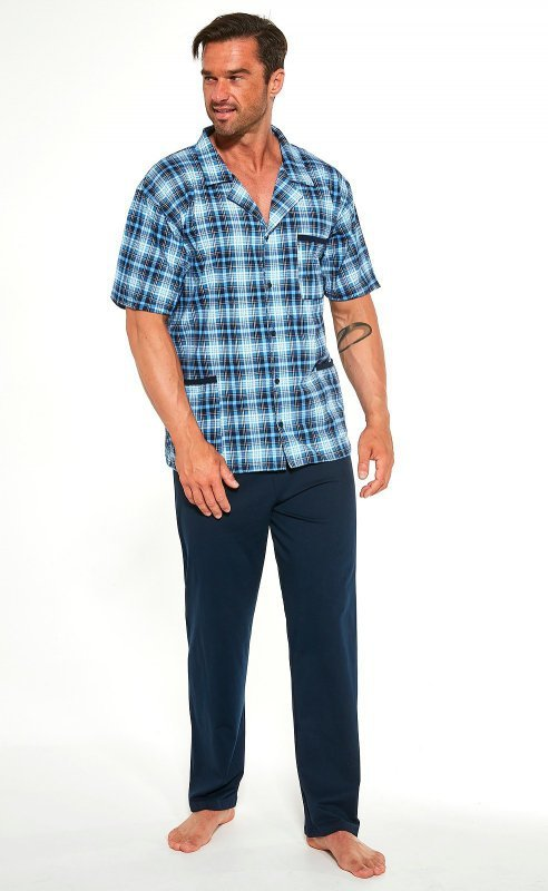 Piżama Cornette 318/43 3XL-5XL Rozpinana męska