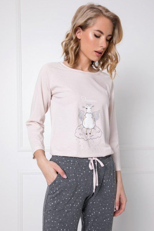 Piżama Aruelle Debbie Long dł/r XS-2XL
